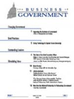 Business of Government March/April 1998