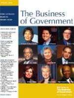 Business of Government Spring 2005