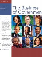 Business of Government Winter 2002