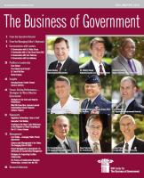 Business of Government Fall 2010