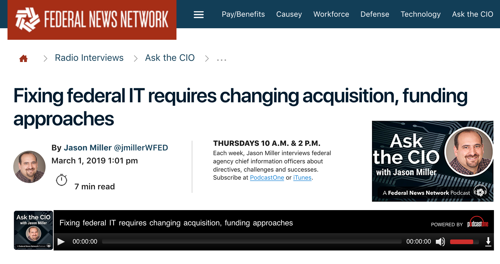 Fixing federal IT requires changing acquisition, funding approaches