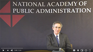 Dan Chenok on Grand Challenges in Public Administration
