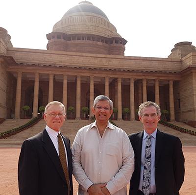 John Kamensky, Praja Trivedi, and Dan Chenok, India