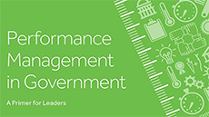 Performance Management in Government - A Primer for Leaders