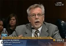 Allan Burman Testimony